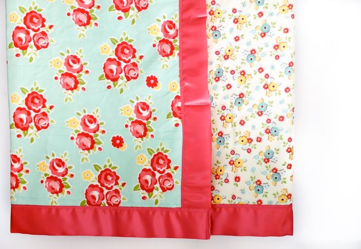How-to-sew-satin-blanket-binding by Shelly--  Today's tutorial is not just How...
