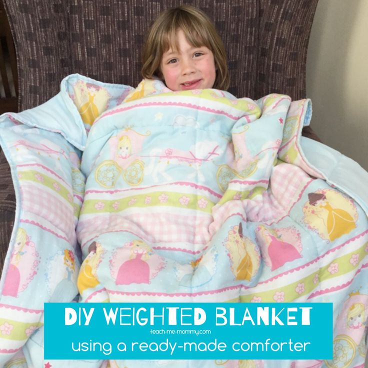 I have wanted to make a weighted blanket for my sensory seeker for a looooong ti...