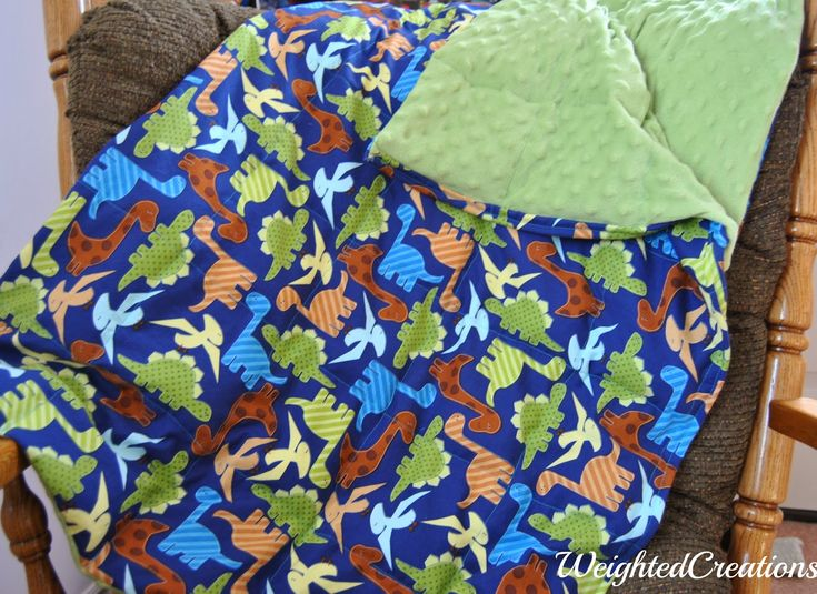 Last year, I was advised to look into a weighted blanket to help Damien. Weighte...
