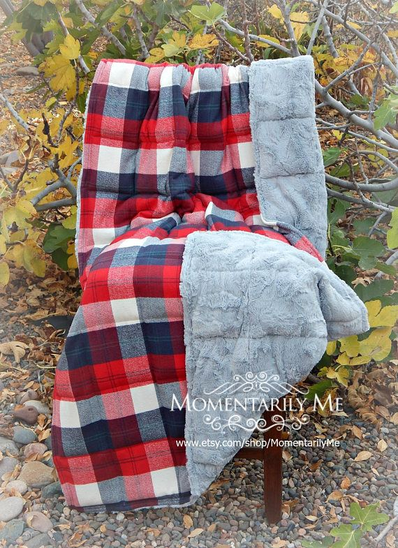 Measurements: 44 x 70 inches **This great print is double brushed flannel with a...