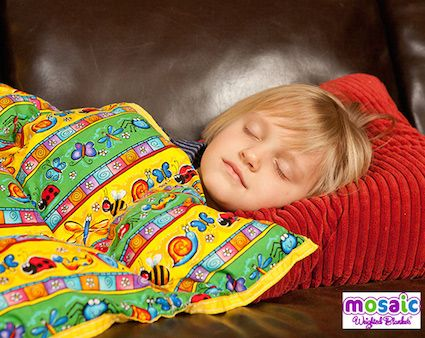 Mosaic weighted blankets are a great gift idea for a child with ADHD, anxiety, o...
