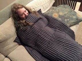 Picture of Stress-Reducing Weighted Blanket
