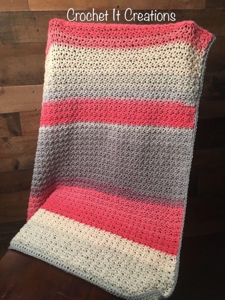 Spring Fling Blanket By Jessica - Free Crochet Pattern - (crochetitcreations)