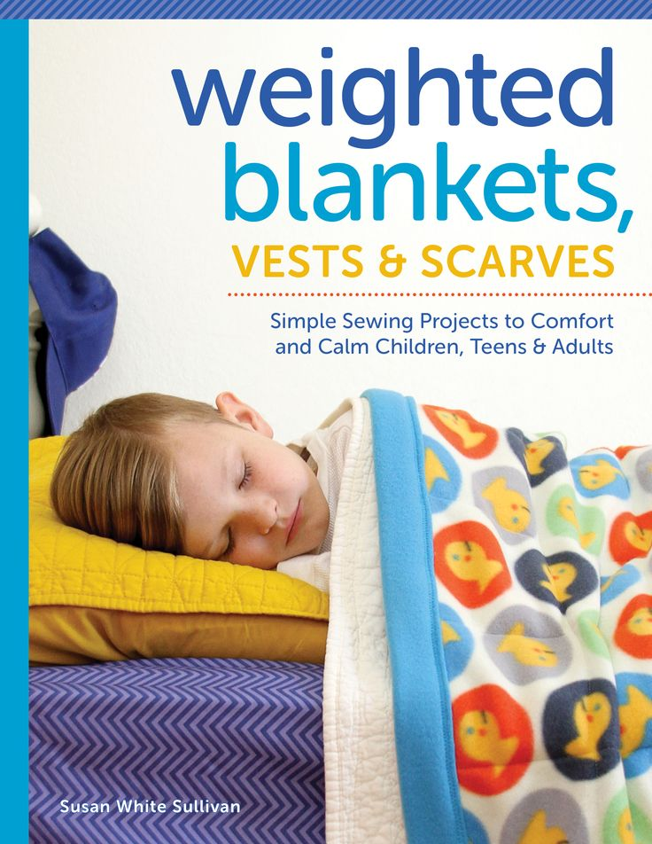 Weighted Blankets, Vests & Scarves by Susan White Sullivan
