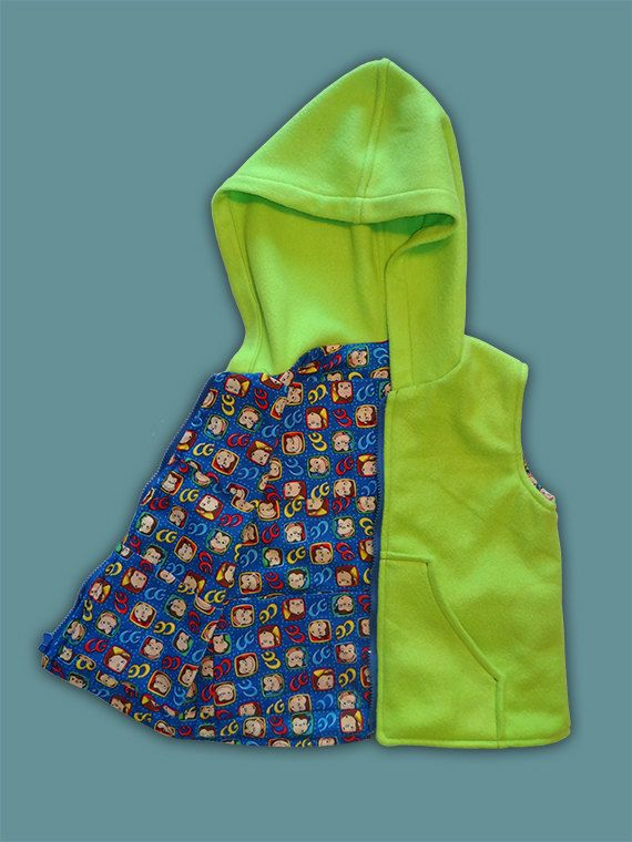 Weighted Hoodie Vest 4 to 6 lbs. Weight by VestFriends on Etsy, $85.00