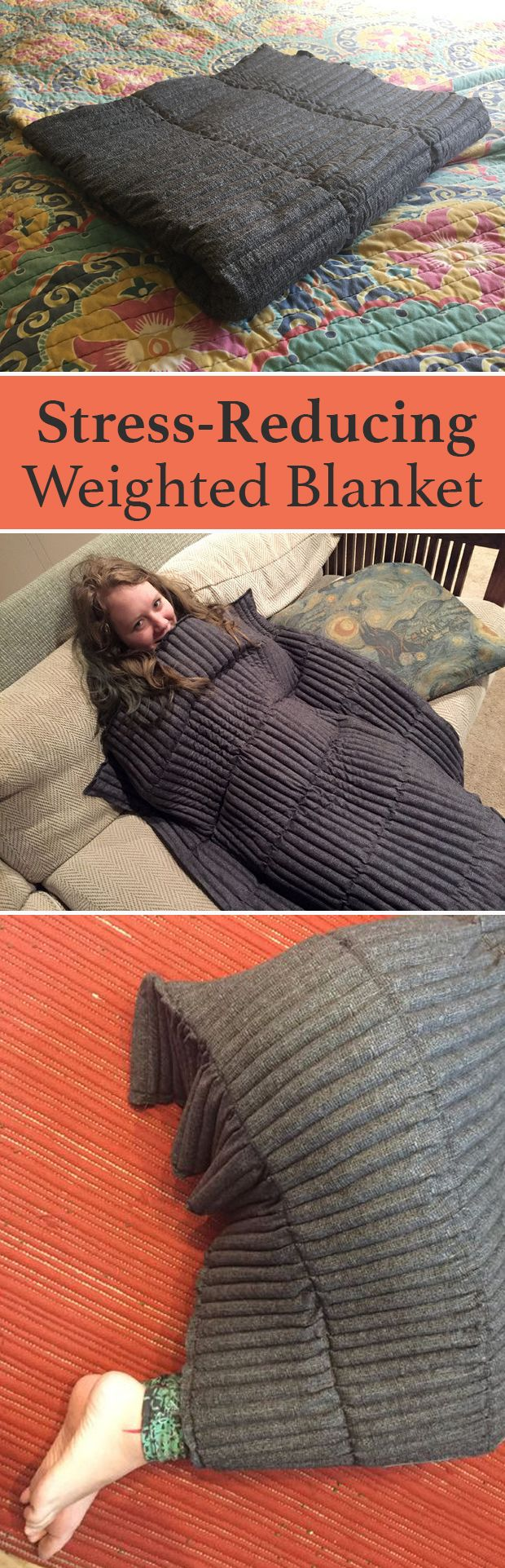 Weighted blankets have long been used therapeutically for people with sensory se...