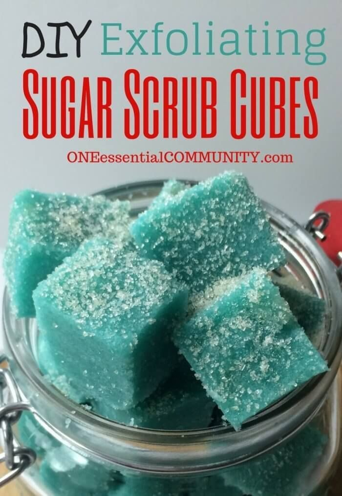 Oh, my! I love this! Have you tried these? Exfoliating sugar scrub cubes are so...