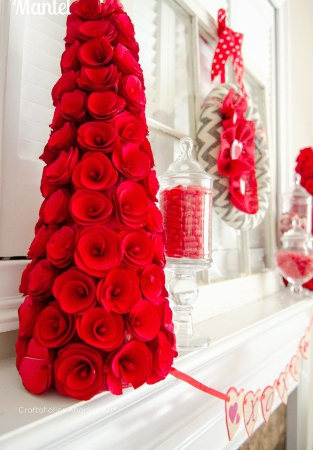 Looking for easy DIY Valentine's Day Decor ideas? Here are 20+ of the best D...