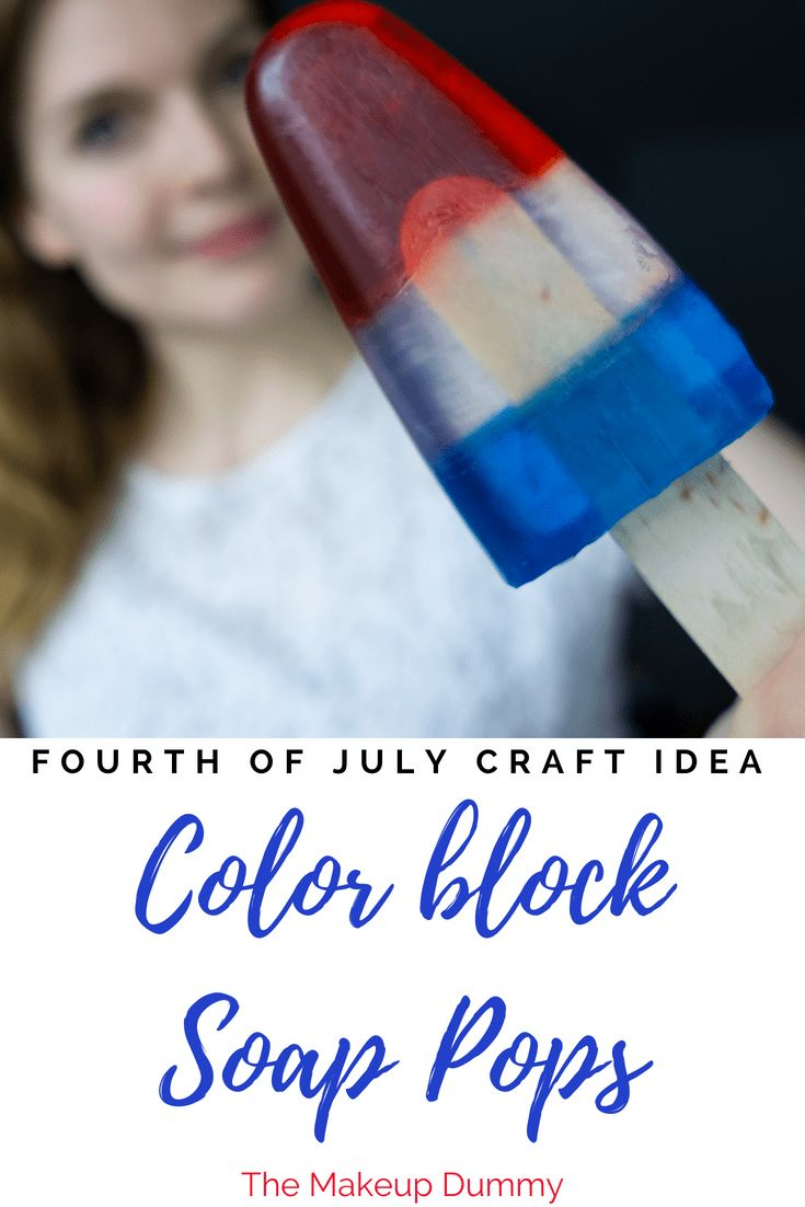 Great Craft Idea!!! Easy Color block melt and pour soap tutorial - the perfect k...