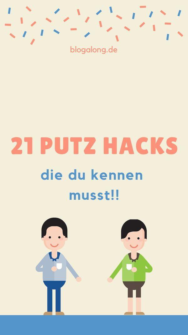 Diese 21 Putz Hacks solltest du kennen, denn so fällt dir der Frühjahrsputz ki...