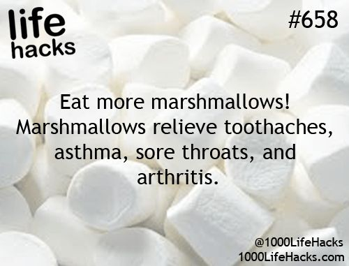 Marshmallows for Sore Throat | Cold and Flu Hacks for Winter