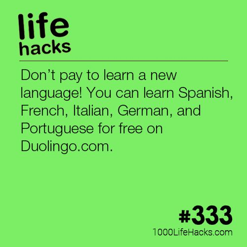 The post Learn a New Language appeared first on 1000 Life Hacks.