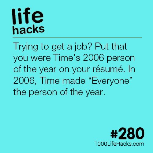 The post Time's 2006 Person of the Year appeared first on 1000 Life Hacks.