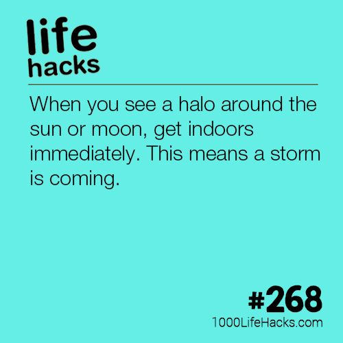 The post What A Halo Around The Moon Means appeared first on 1000 Life Hacks.