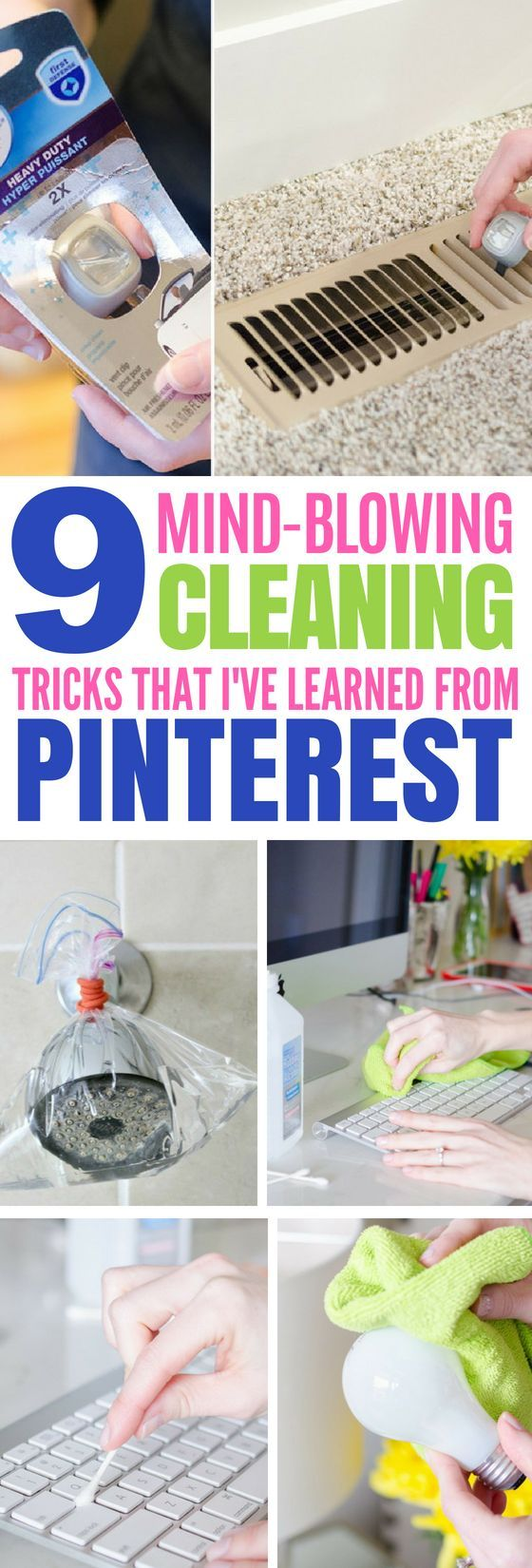 These 9 Spring Cleaning Hacks Are Such Life Savers! #cleaning #organize #hacks #...