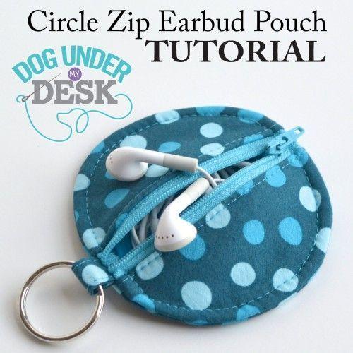40 Zip DIY bolsa Tutoriales en Polka Dot Presidente Blog