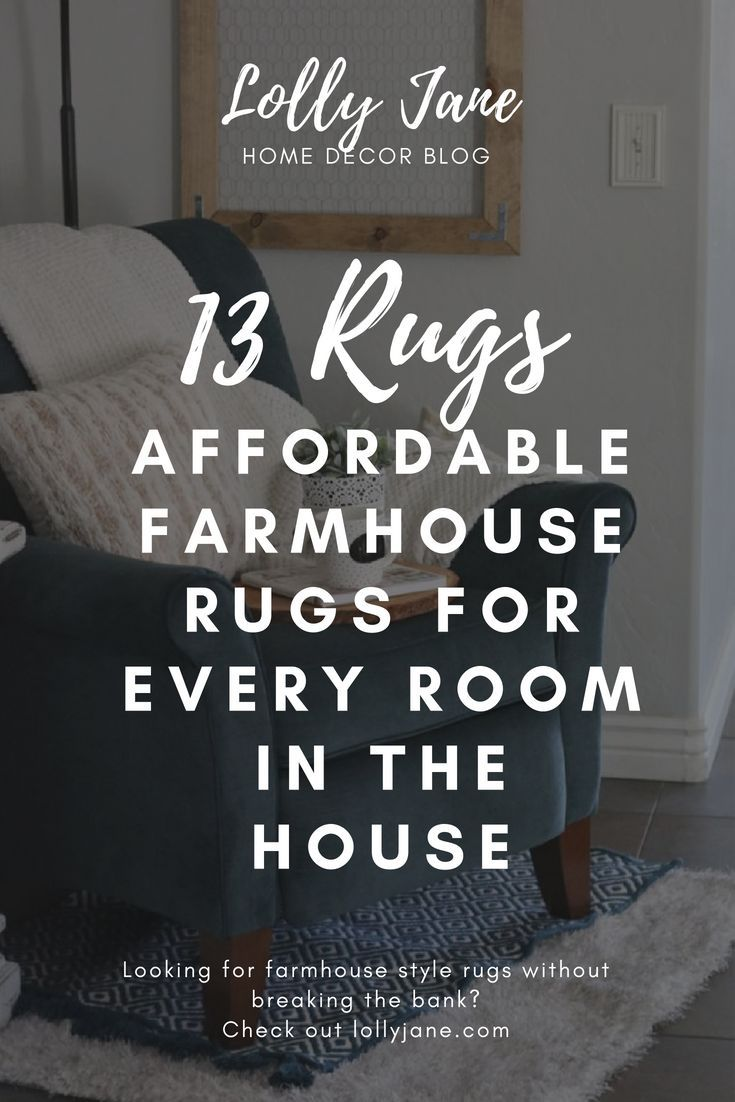 Adore these 13 affordable farmhouse style rugs for every room in the house. Such...