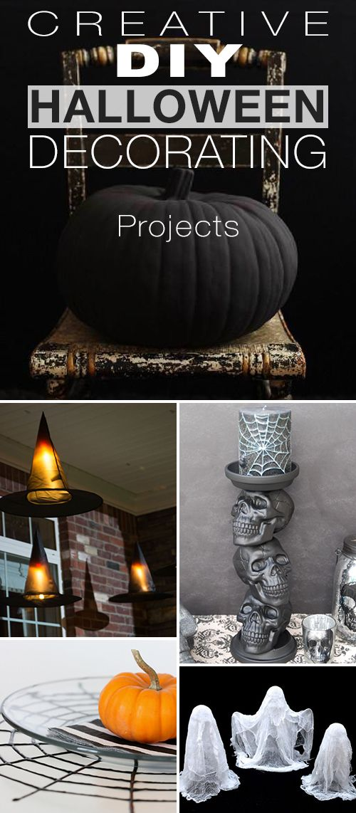 Creative DIY Halloween Decorating Projects! • Lots of new ideas, projects and ...