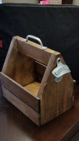 DIY Beer Tote Plans | Free DIY Plans | rogueengineer.com #DIYBeerTote #ManCaveDI...