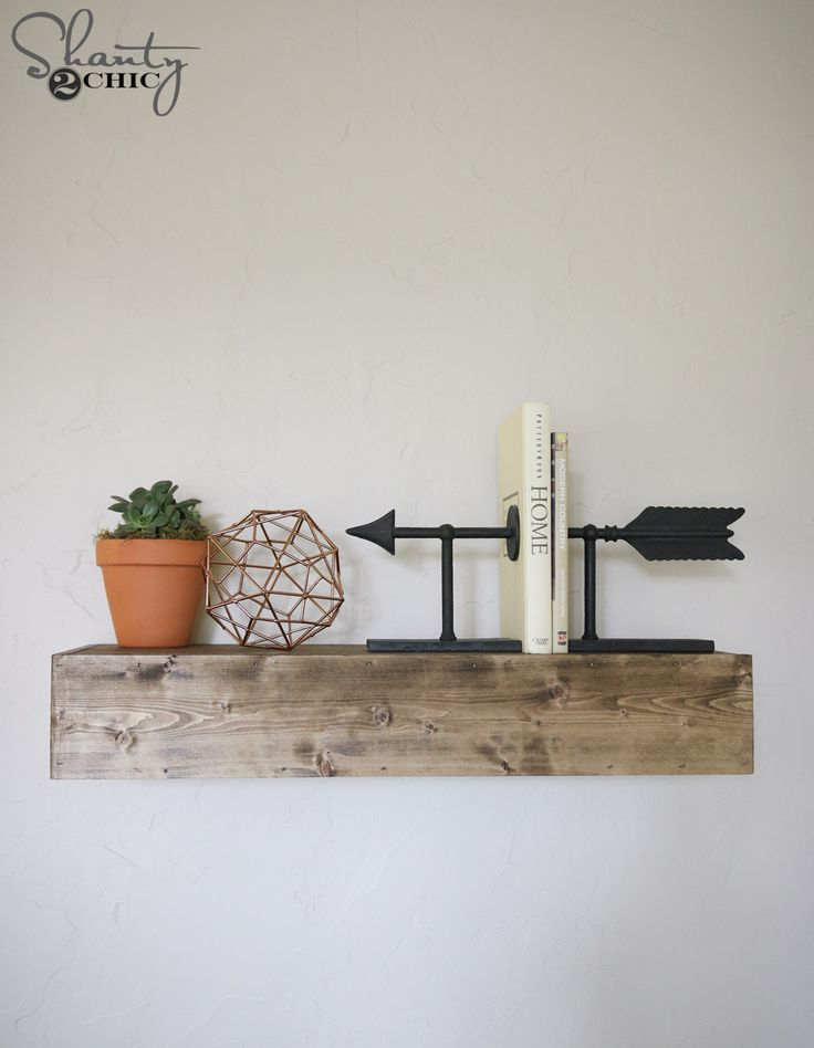 DIY Floating Shelves Video Tutorial