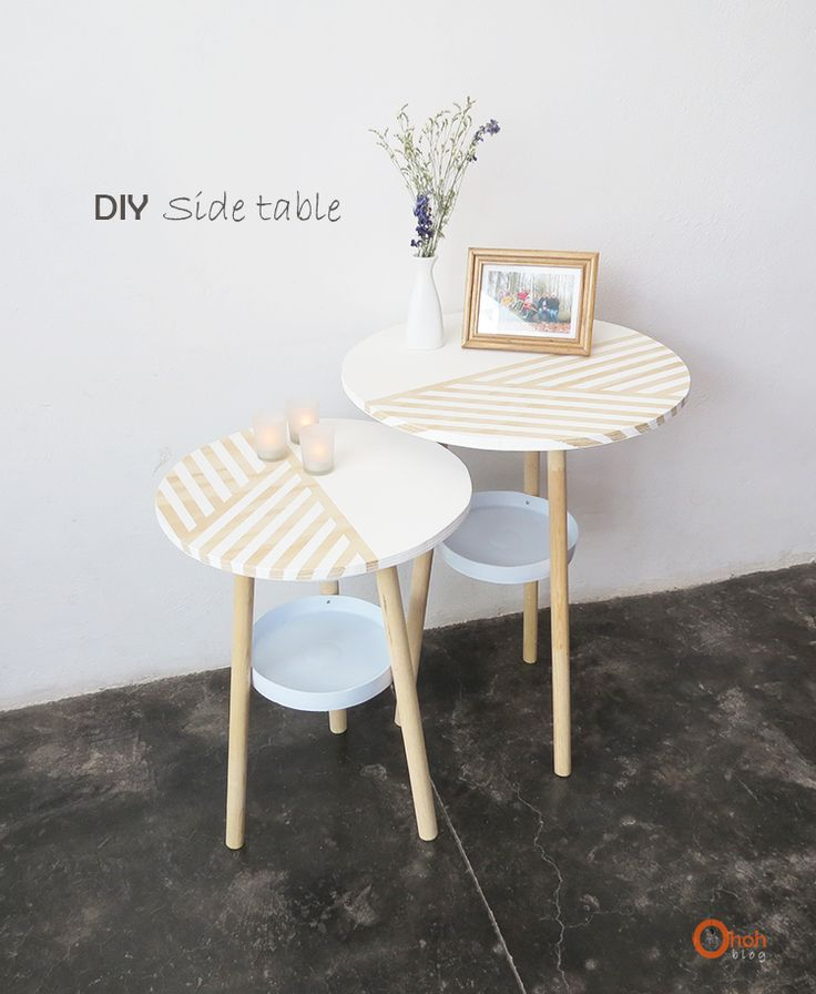 DIY Side tables