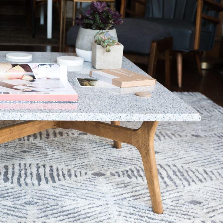 DIY Stone Top Coffee Table | Design*Sponge