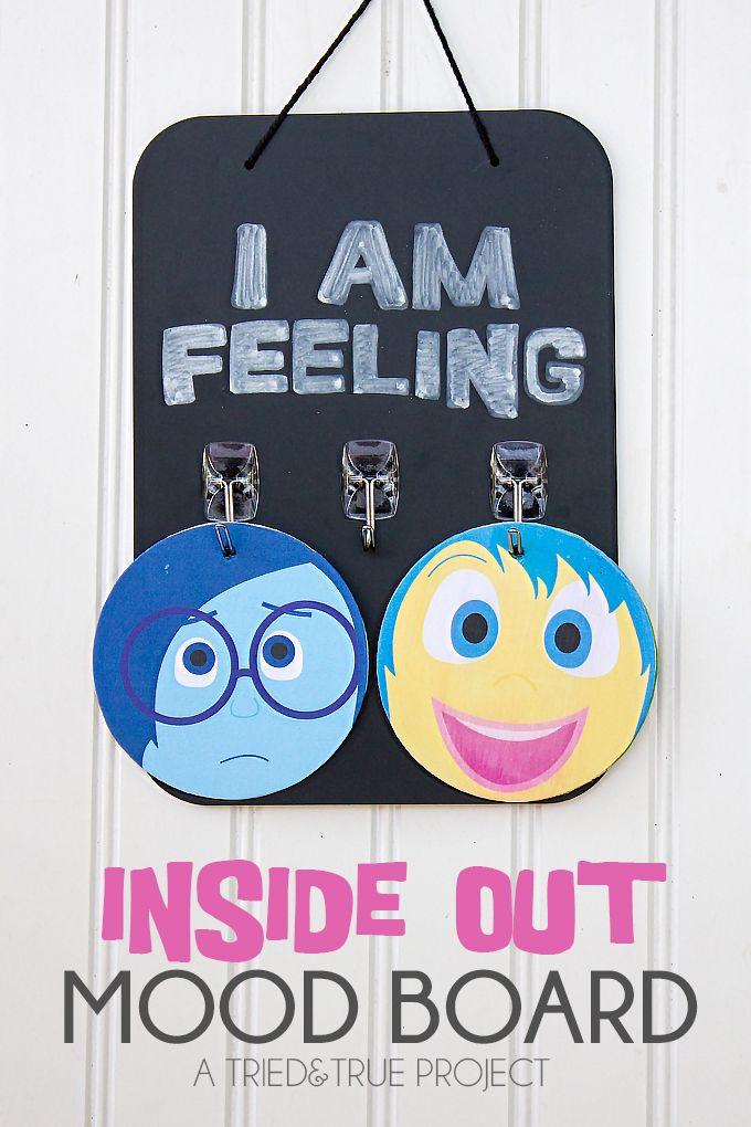 Disney Inside Out Mood Board