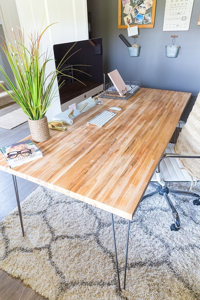Having trouble finding the perfect desk? Take these easy steps to build your own...