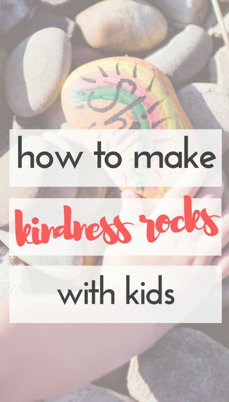 How to Make Kindness Rocks with Kids   If you haven't heard of The Kindness Rock...