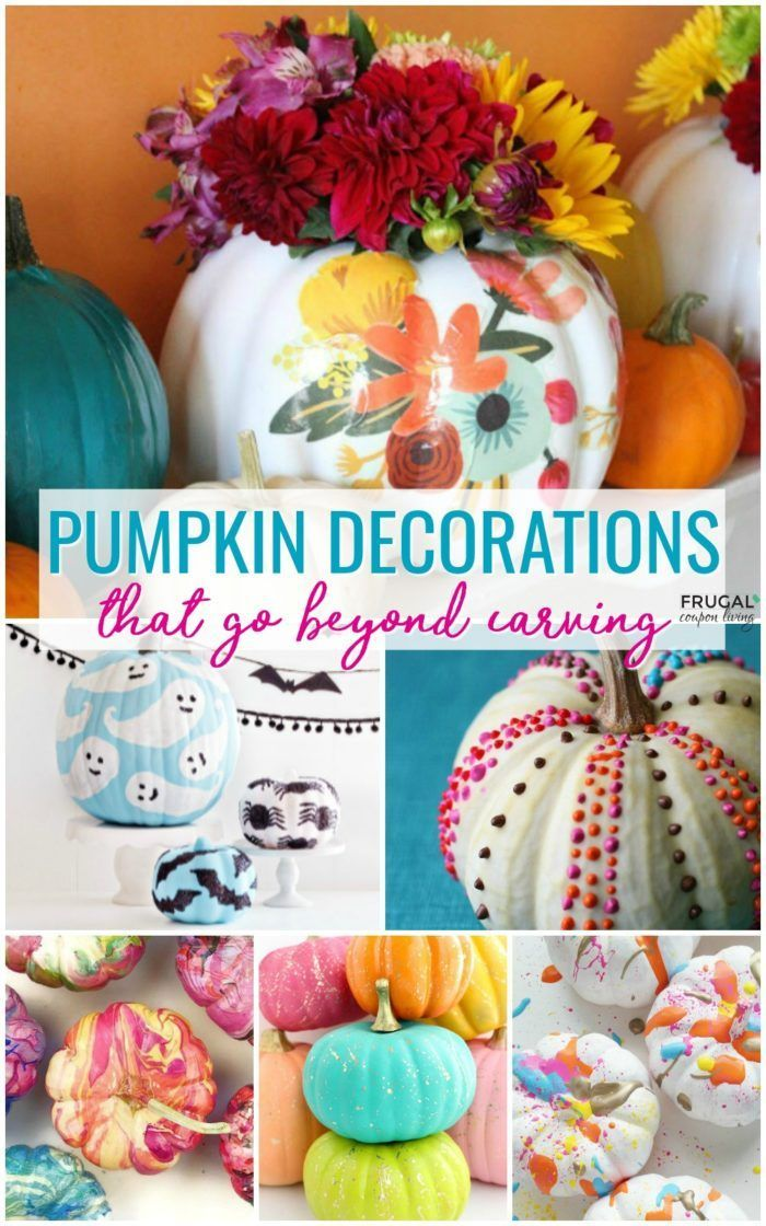 Looking to up your Halloween decor? Creative pumpkin decorations that go beyond ...