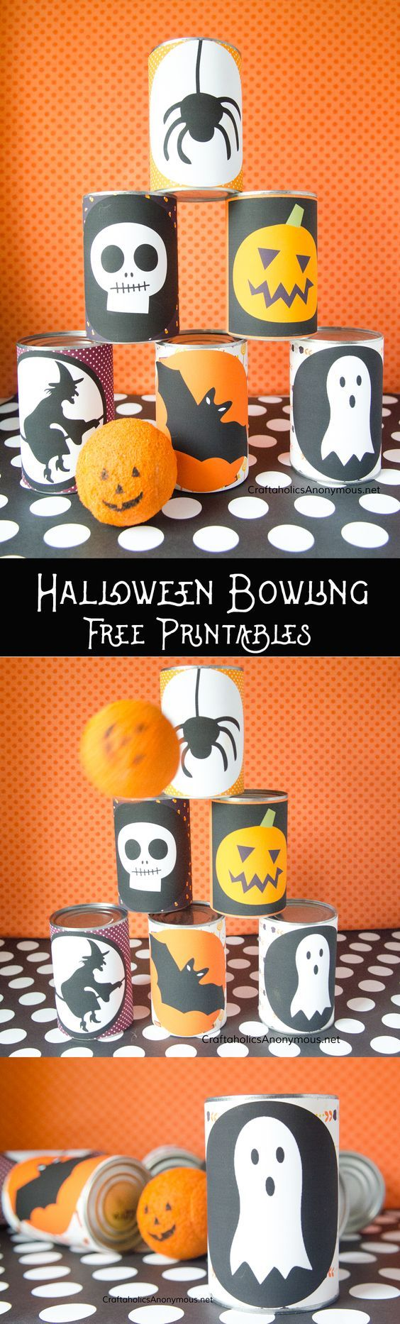 Such a fun activity for your Halloween party! Its one of those simple crafts and...