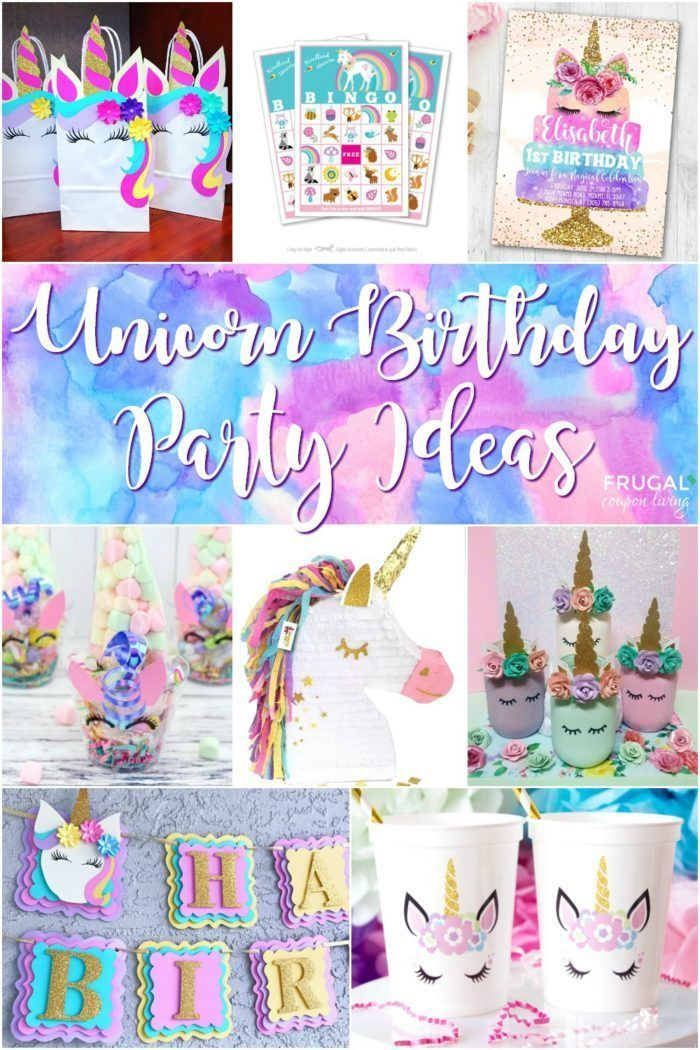 Diy Crafts Unicorn Birthday Party Ideas And Whimsical Unicorn