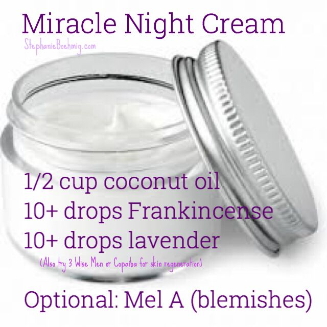 Miracle face cream (night or day...or BOTH!) StephanieBoehmig.com
