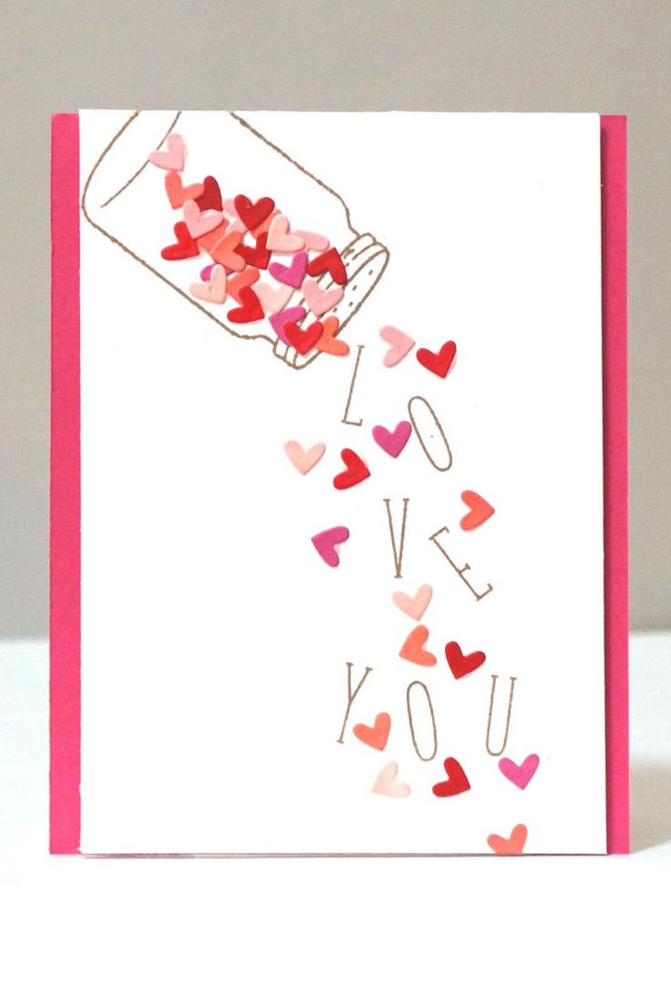 22 Cute DIY Valentine's Day Cards - Homemade Card Ideas for Valentine's ...