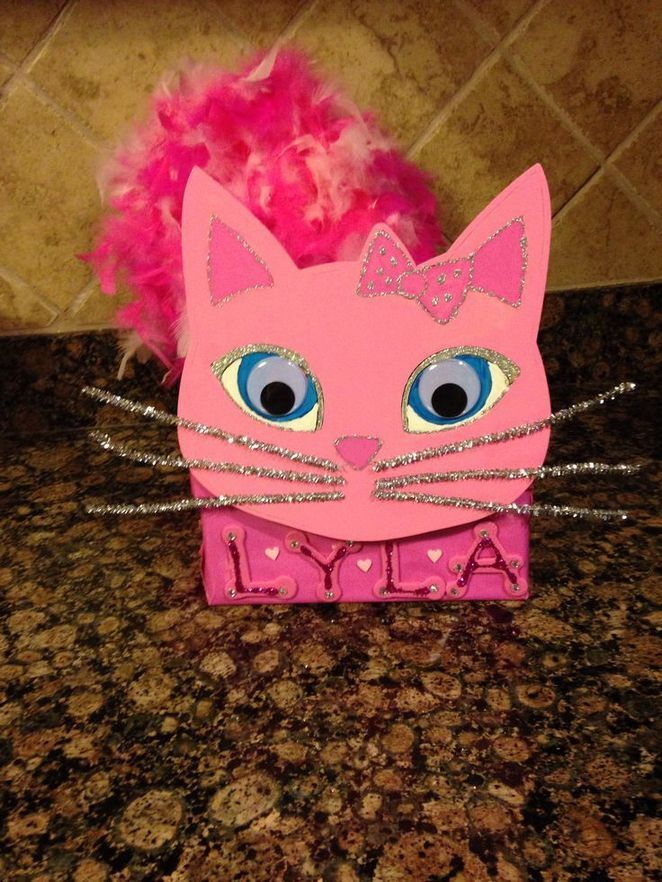 40+ Adorable DIY Valentine's Day Boxes for Kids