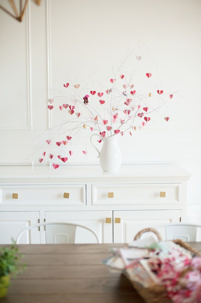 BECKI OWENS—DIY Valentine's Day Tree with the House that Lars Built and Ni...