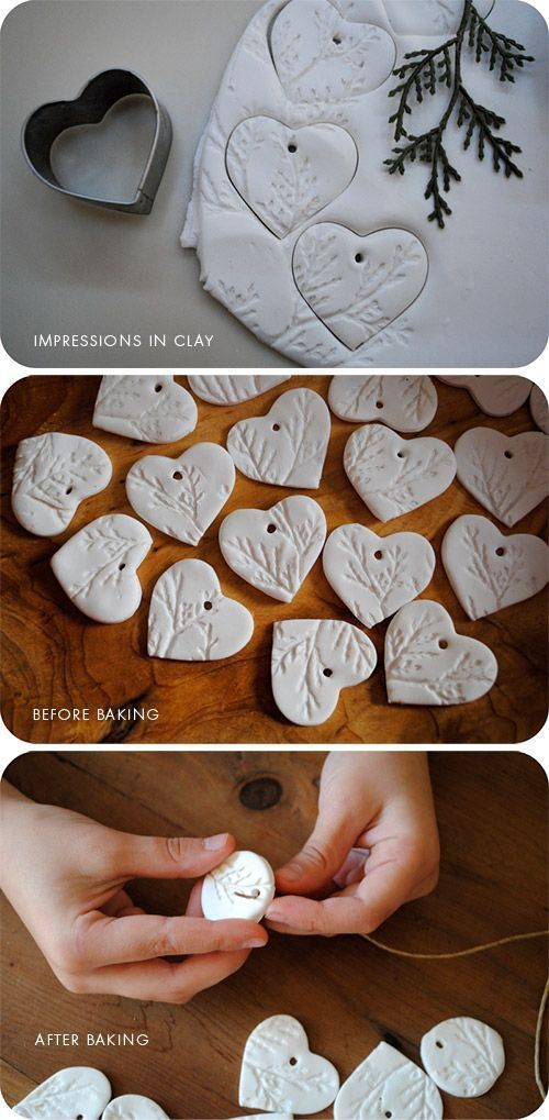 DIY - Clay Gift Tag Step-by-Step Tutorial using Sculpey Clay (Ultra Light) and a...