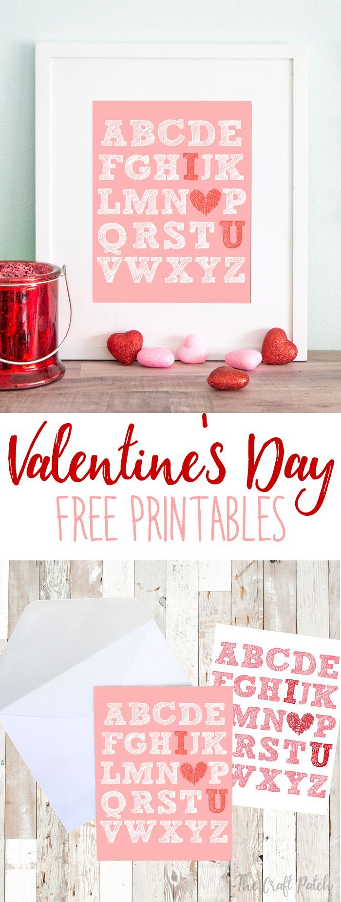 graphic relating to Valentine's Day Printable Decorations identify Do it yourself Valentines Working day : Down load this cute free of charge printable