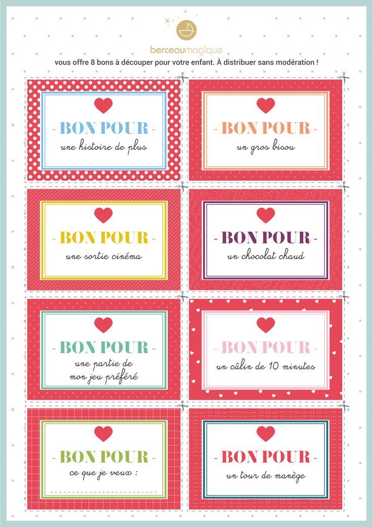 Free printable 2 saint valentin | Berceau Magique