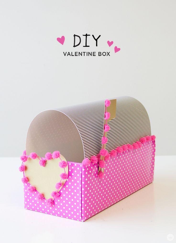 Here is a sweet Valentine's Day idea from Hallmark designer Allie S. DIY Val...