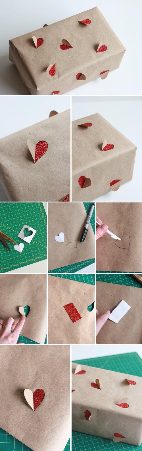 Idées papier cadeaux créatif