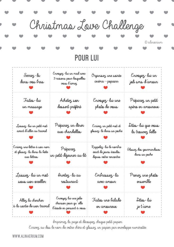 Je vous partage mes Challenge Calendars à imprimer en PDF et mes idées de cade...