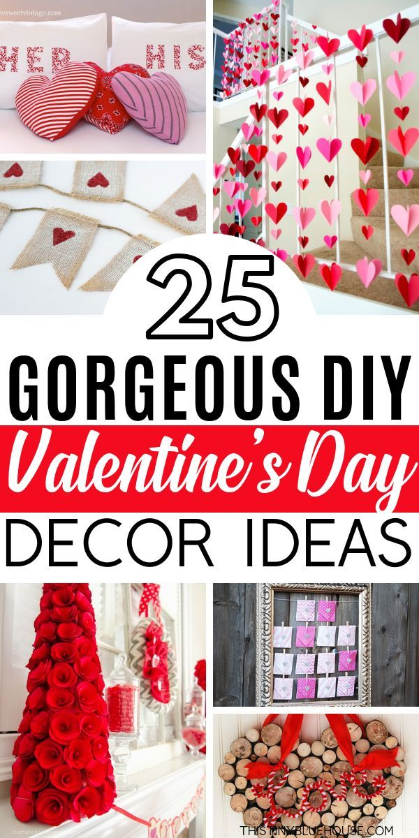 Diy Valentines Day Looking For Easy Diy Valentine S Day Decor