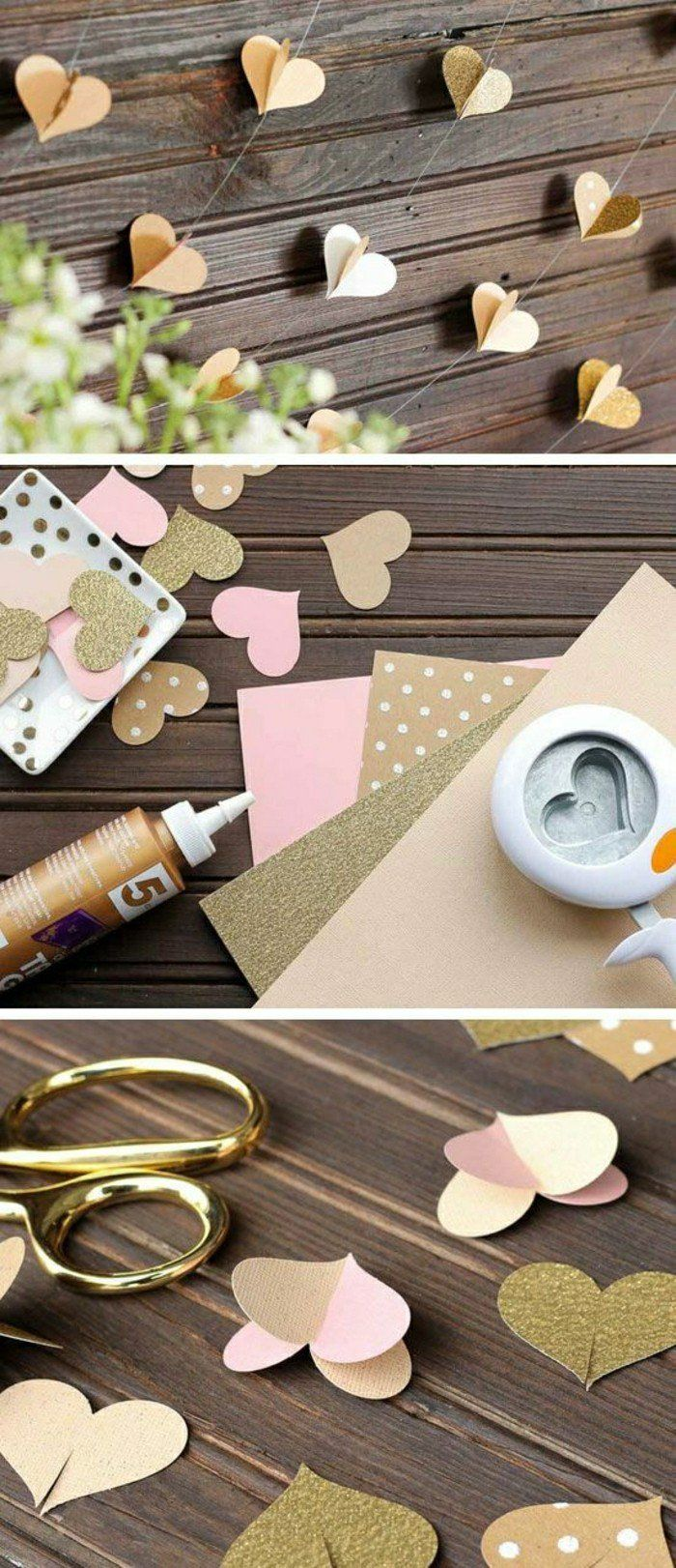 On va essayer de faciliter la vie de chaque jeune mariée en vous donnant 50 DIY...