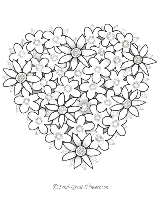 Sélection de coloriages cœurs à imprimer, un loisir créatif à la portée de...