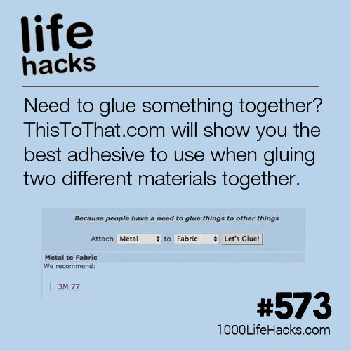 Improve your life one hack at a time. 1000 Life Hacks, DIYs, tips, tricks and Mo...