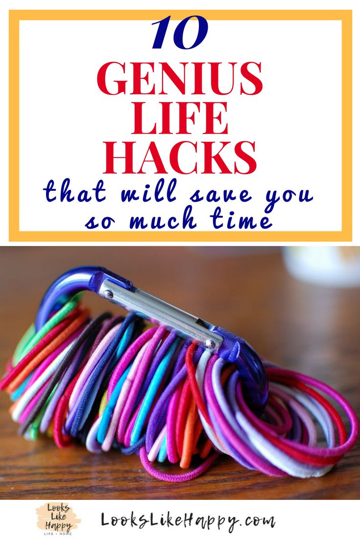 10 Genius Life Hacks That Will Save You So Much Time - Looks Like Happy  #life #...