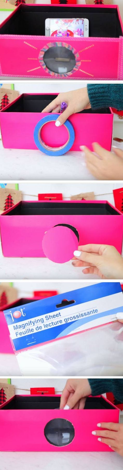Smartphone Projector | 19 DIY Movie Night Ideas for Teens that will get the part...