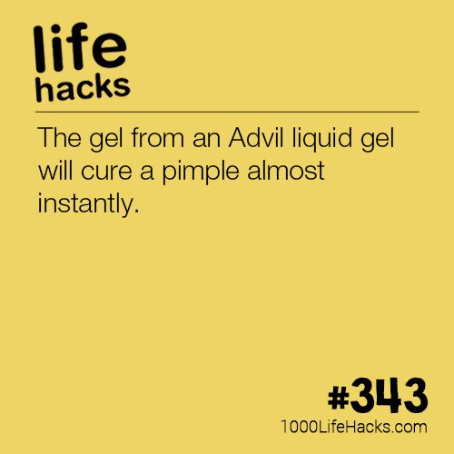 The gel from an Advil liquid gel will cure a pimple almost instantly.