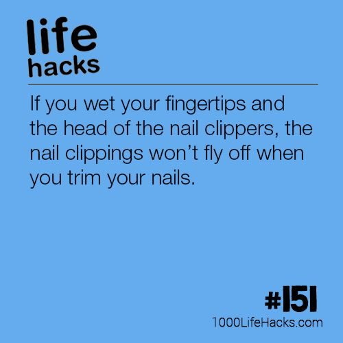 The post #151 – The Best Way To Cut Your Nails appeared first on 1000 Life Hac...